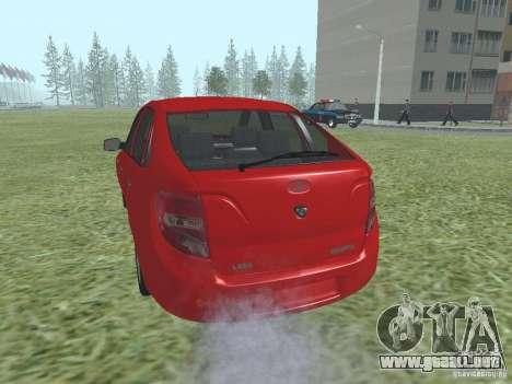 VAZ 2192 para la visión correcta GTA San Andreas