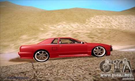 Elegy 180SX para GTA San Andreas vista hacia atrás