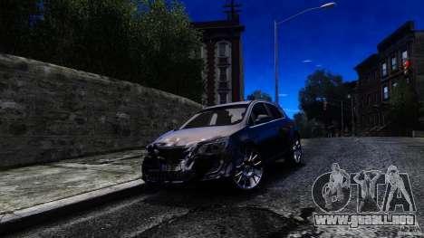Opel Astra para GTA 4 vista hacia atrás