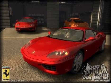 Ferrari 360 modena para GTA 4