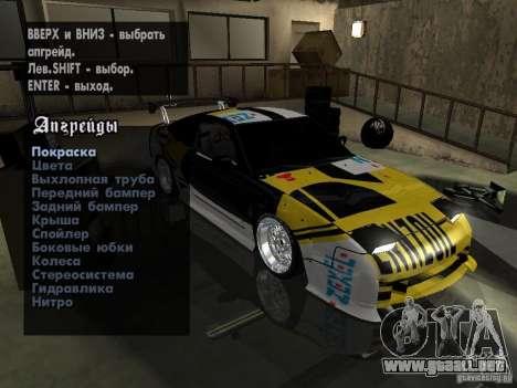 Nissan 240SX Tuned para GTA San Andreas