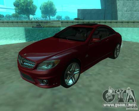 Mercedes-Benz CL65 AMG para GTA San Andreas left