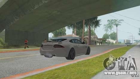 Jaguar XKR-S para la visión correcta GTA San Andreas