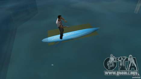 Surfboard 3 para GTA Vice City vista lateral izquierdo