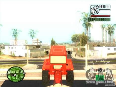 Tractor para la visión correcta GTA San Andreas