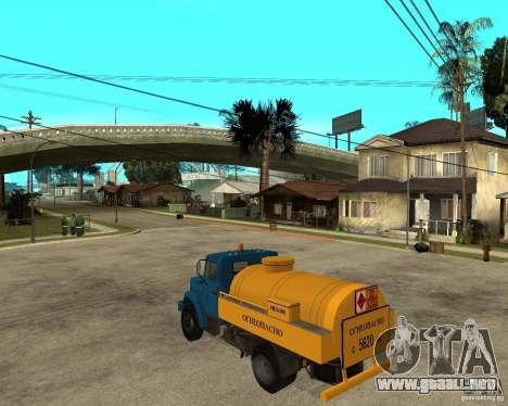 ZIL-433362 Extra Pack 2 para GTA San Andreas vista hacia atrás