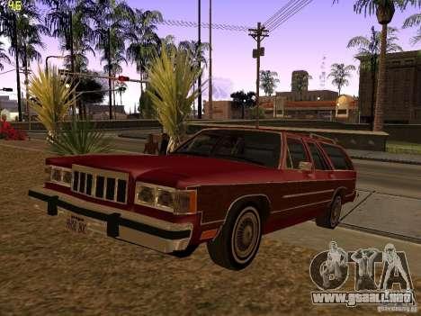 Mercury Grand Marquis Colony Park para GTA San Andreas