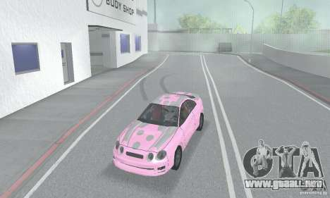 Toyota Celica GT4 2000 para vista inferior GTA San Andreas
