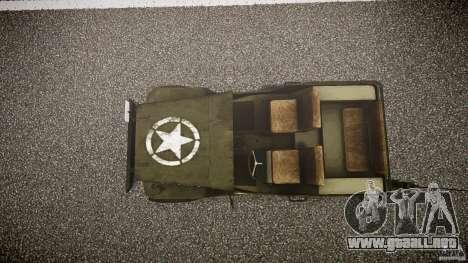 Walter Military (Willys MB 44) v1.0 para GTA 4 visión correcta