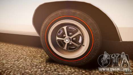 Dodge Charger RT 1969 v1.0 para GTA 4 vista desde abajo