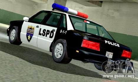 New Police LS para GTA San Andreas left