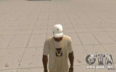Kappa Cap para GTA San Andreas segunda pantalla