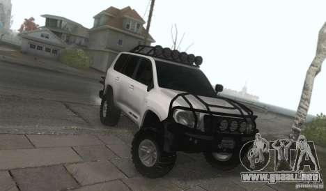 Toyota Land Cruiser 200 Off Road v1.0 para GTA San Andreas