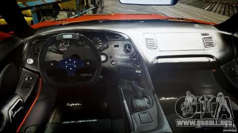 Toyota Supra MK4 Tunable v1.0 para GTA 4 visión correcta
