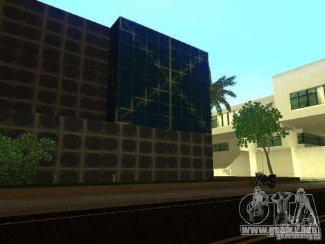 Edificio nuevo en LS para GTA San Andreas sucesivamente de pantalla