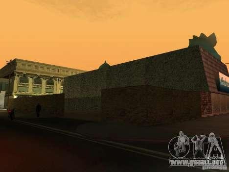 Cafe de Andreas para GTA San Andreas tercera pantalla