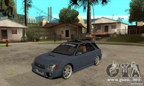 Subaru Impreza Universal para GTA San Andreas