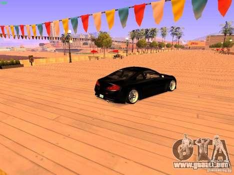 Infiniti G35 V.I.P para GTA San Andreas left