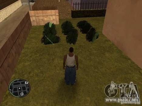 Marihuana v2 para GTA San Andreas sexta pantalla