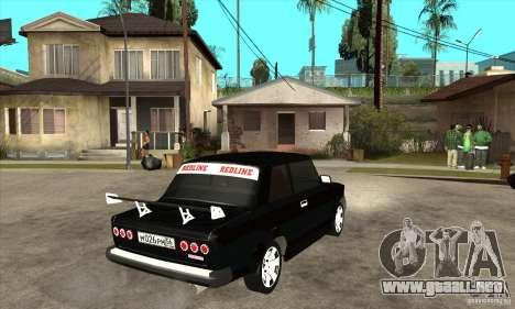 Coupe de 2 puertas VAZ 2101 para la visión correcta GTA San Andreas