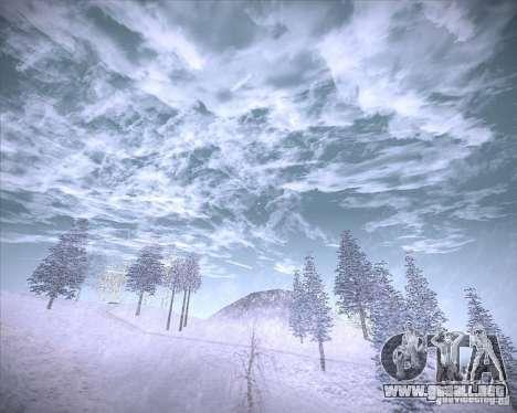 Real Clouds HD para GTA San Andreas sexta pantalla