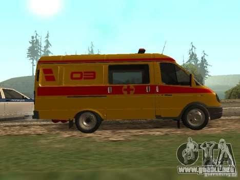 GAS reanimación 32217 para GTA San Andreas left