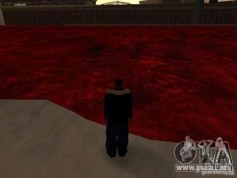 Lava para GTA San Andreas sucesivamente de pantalla