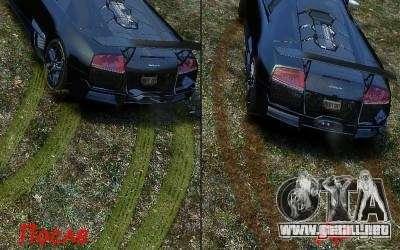 Ritmos y nuevas texturas para GTA 4 tercera pantalla