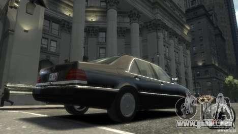 Mercedes-Benz 600SEL wheel2 non-tinted para GTA 4 Vista posterior izquierda