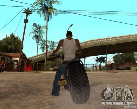 Diabolus Bike para la visión correcta GTA San Andreas