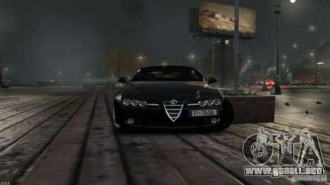 Alfa Romeo Brera Italia Independent 2009 v1.1 para GTA 4 Vista posterior izquierda