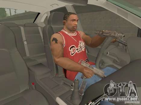 Freno de mano para GTA San Andreas segunda pantalla