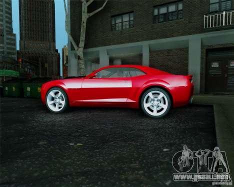 Chevrolet Camaro 2007 para la visión correcta GTA San Andreas