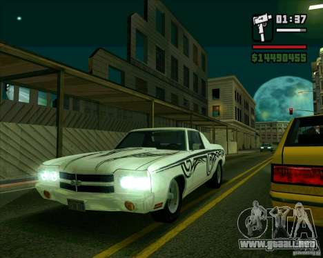 Chevrolet Chevelle SS para GTA San Andreas left