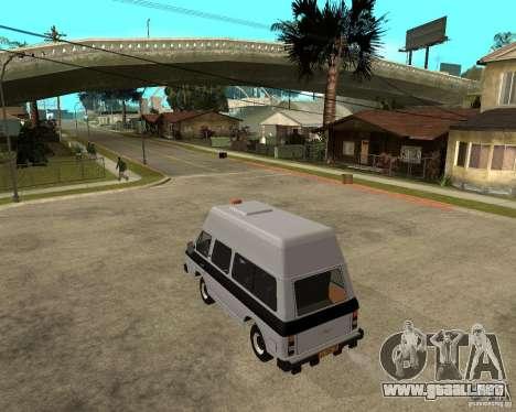 RAPH 22038 taxi para GTA San Andreas left