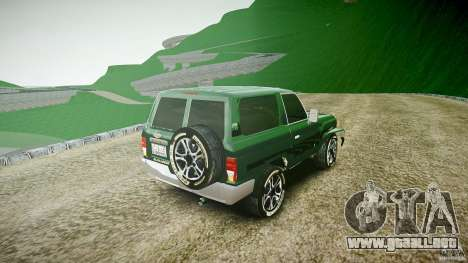 Toyota Land Cruiser 4.5 V2 para GTA 4 vista lateral