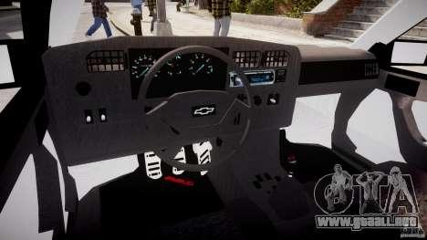 Chevrolet Monza GLS 96 para GTA 4 visión correcta