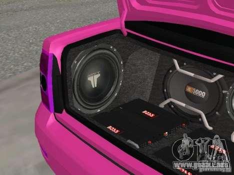 Lada Priora Emo para la vista superior GTA San Andreas