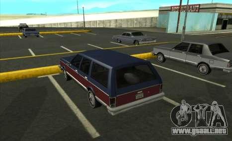 New Regina para GTA San Andreas left