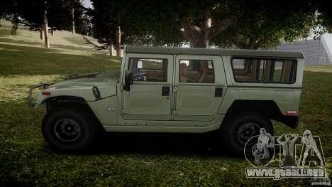 Hummer H1 Original para GTA 4 left
