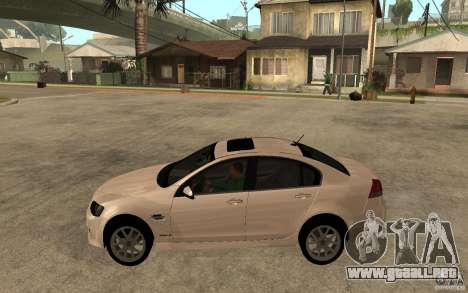 Chevrolet Lumina 2010 para GTA San Andreas left