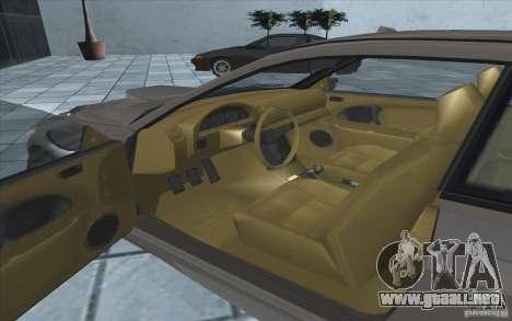 Centinela de GTA 4 para GTA San Andreas vista hacia atrás