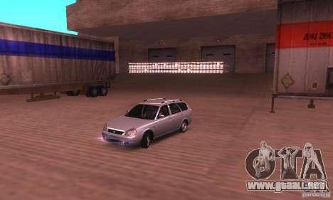 VAZ-2171 v2.0 para GTA San Andreas