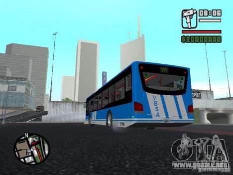 Design-X4-Dreamer para GTA San Andreas vista posterior izquierda