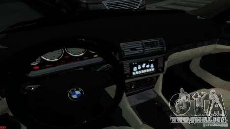 BMW M5 E39 AC Schnitzer Type II v1.0 para GTA 4 vista lateral