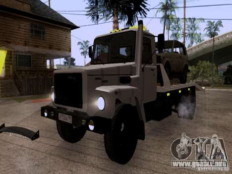 GAZ 3309 grúa para GTA San Andreas