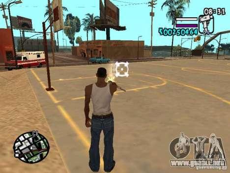 HUD by Hot Shot v2.1 para GTA San Andreas tercera pantalla