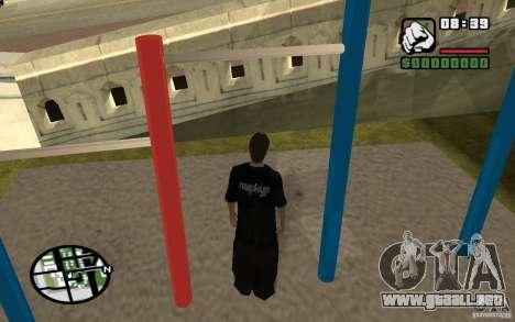 Barras horizontales para GTA San Andreas quinta pantalla