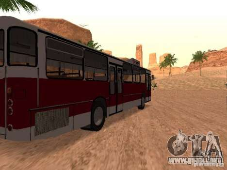 Mercedes-Benz O305 para la vista superior GTA San Andreas