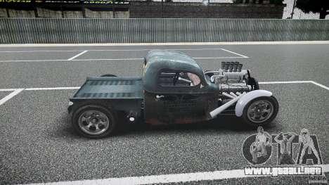 Ford Ratrod 1936 para GTA 4 left